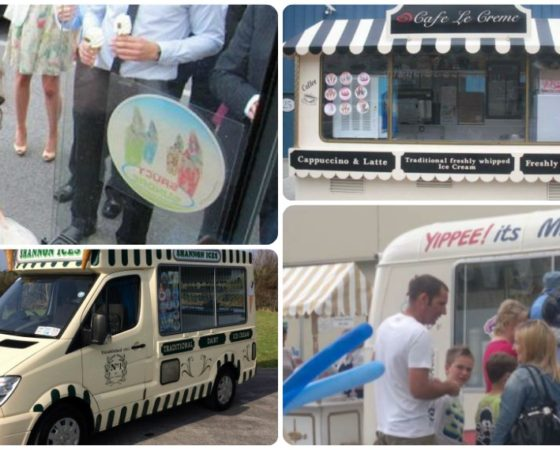 Communion Day Ice Cream Vans